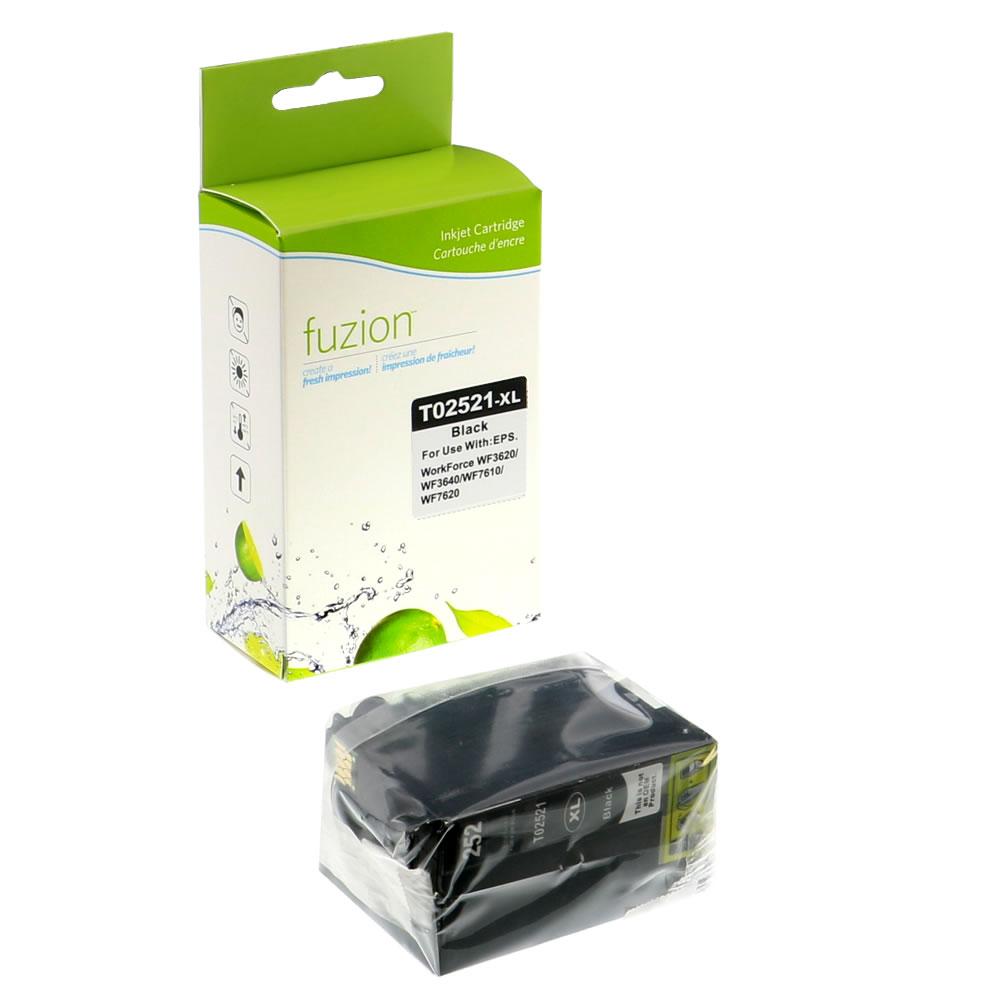 FUZION - Epson T252XL120 Inkjet - HY Black