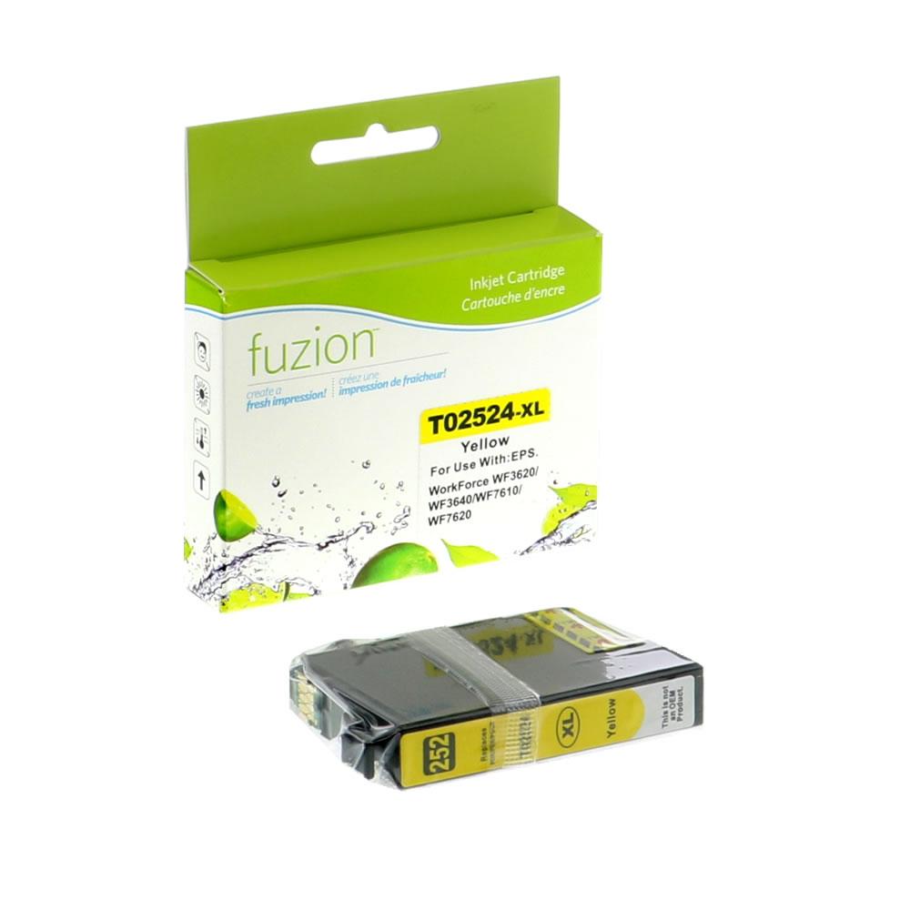 FUZION - Epson T252XL420 Inkjet - HY Yellow
