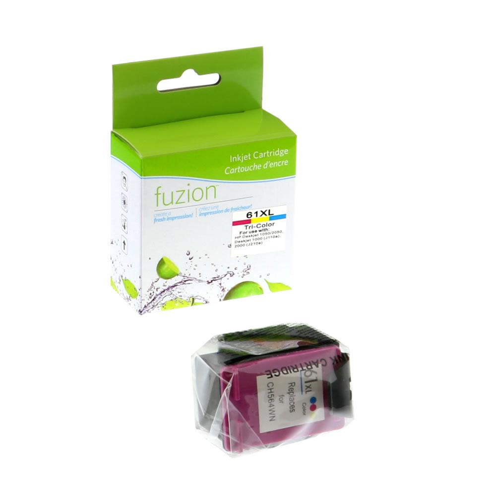 FUZION - HP #61XL Tri-Colour Inkjet - CMY
