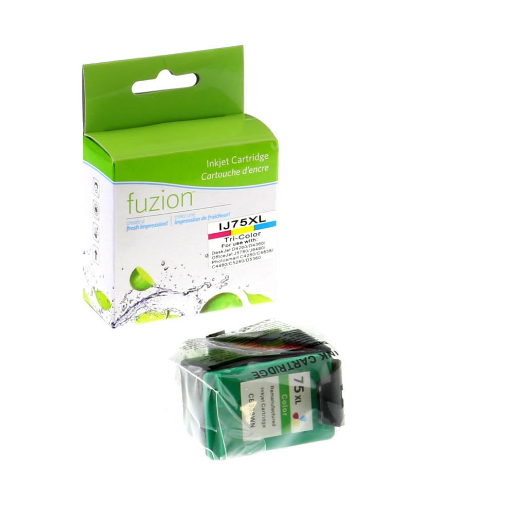 FUZION - HP #75XL Tri-Colour Inkjet - HY CMY