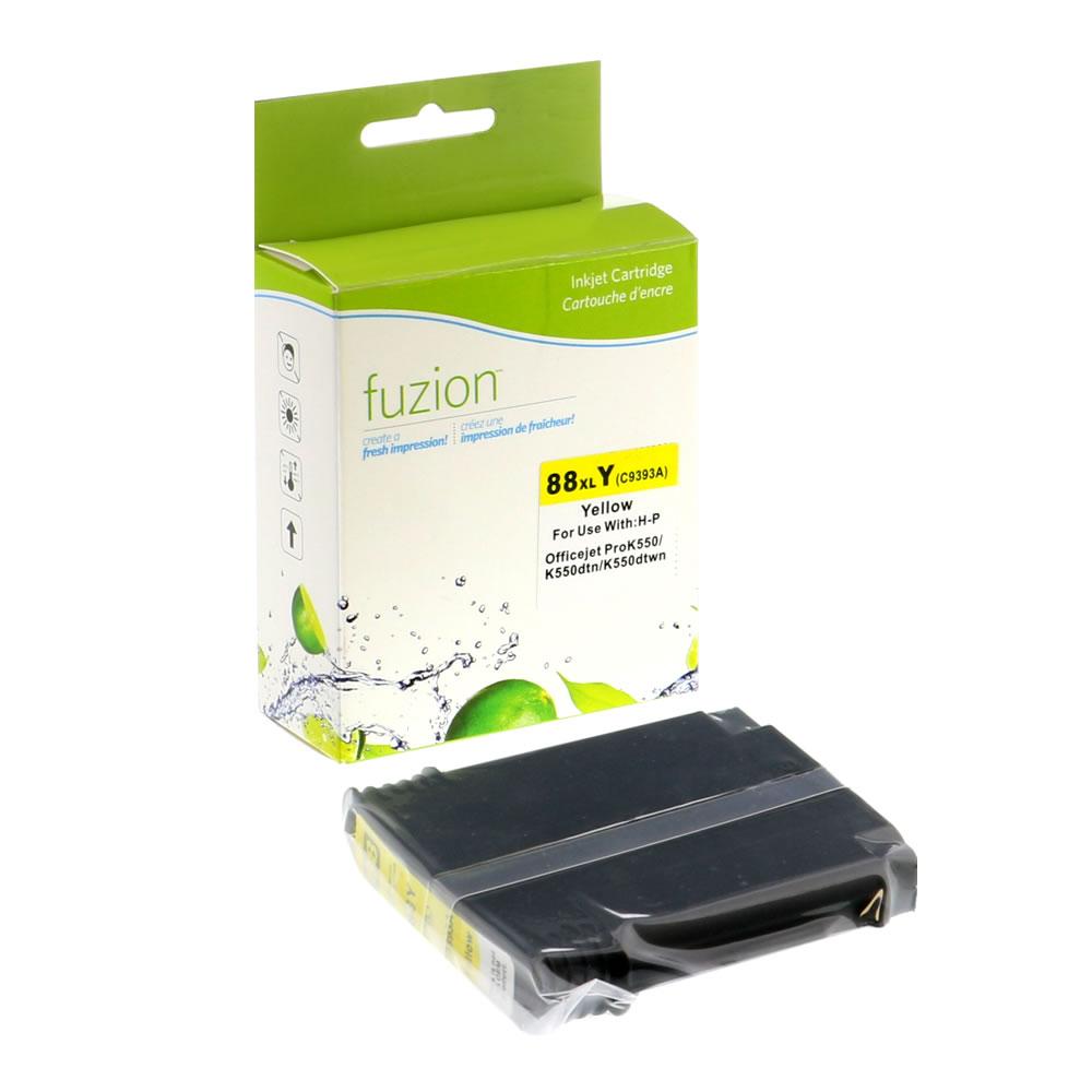 FUZION - HP #88XL Inkjet - Yellow