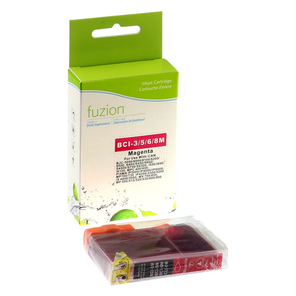 FUZION - Canon BCI-3EM/5M/6M Inkjet - Magenta