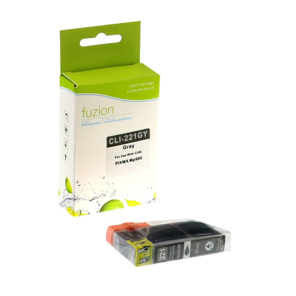 FUZION - Canon CLI-221 Inkjet - Gray