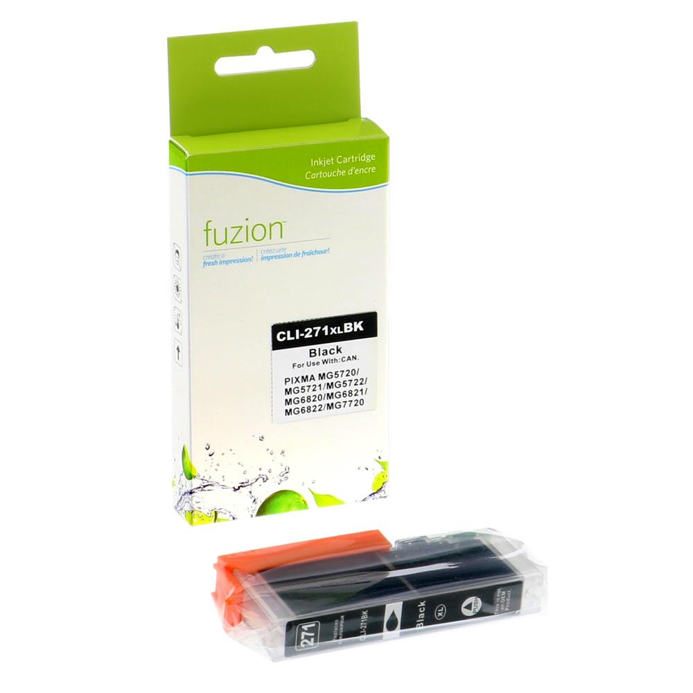 FUZION - Canon CLI-271XL HY Inkjet - Black