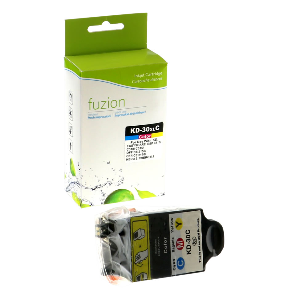 FUZION - Kodak #30XL Inkjet Cartridge - CMY
