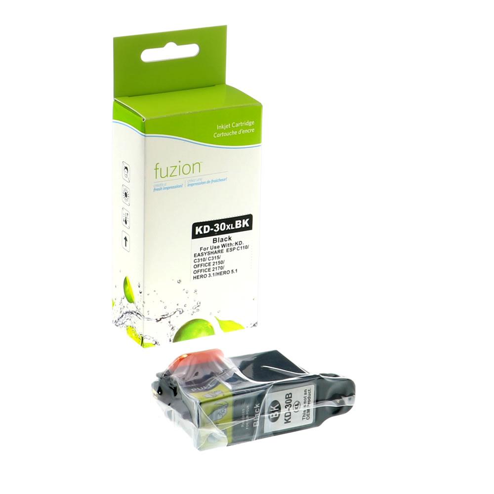 FUZION - Kodak #30XL Inkjet Cartridge - Black