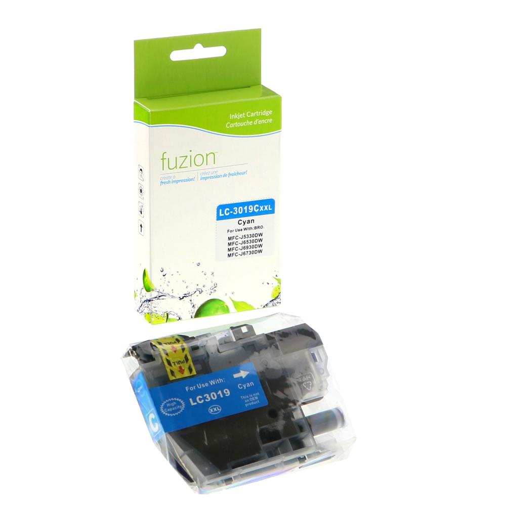 FUZION - Brother LC3019C Inkjet - Cyan