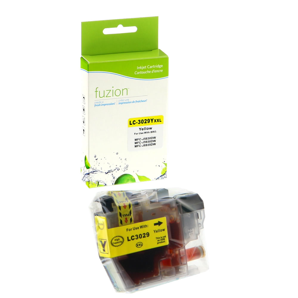 FUZION - Brother LC3029Y Inkjet - Yellow