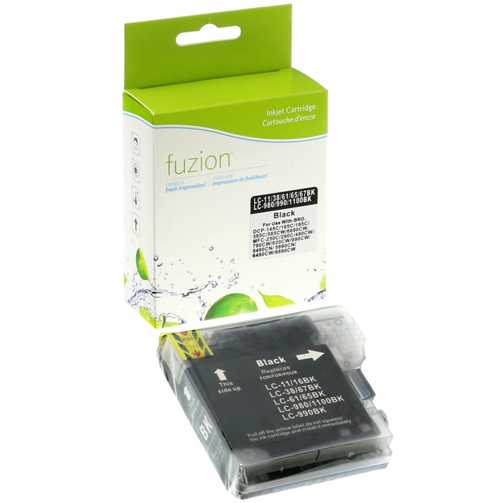 FUZION - Brother LC61 Inkjet - Black