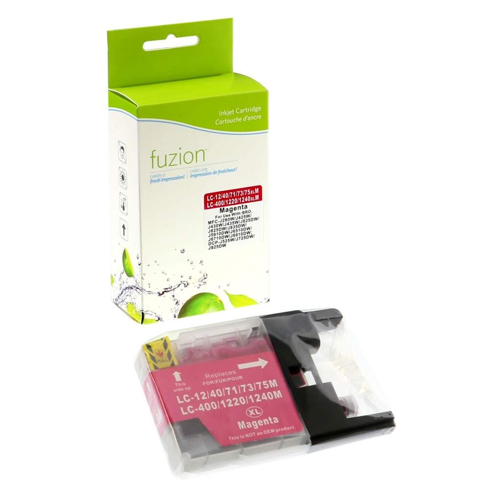 FUZION - Brother LC75 High Yield Inkjet - Magenta